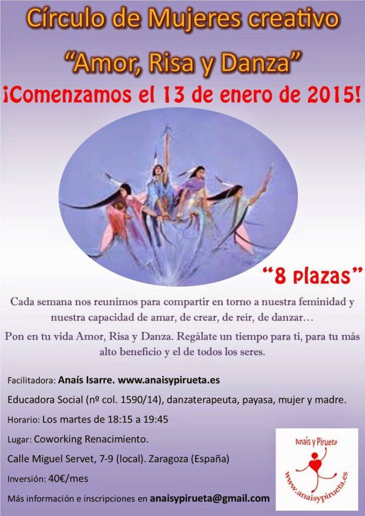 """Círculo de Mujeres Creativo """"Amor, Risa y Danza"""""""