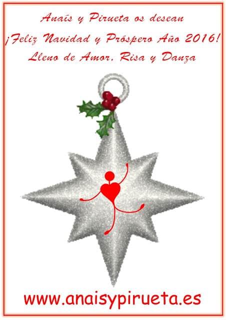 Feliz Navidad Anaís y Pirueta
