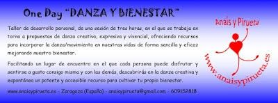 Taller One Day Danza y Bienestar