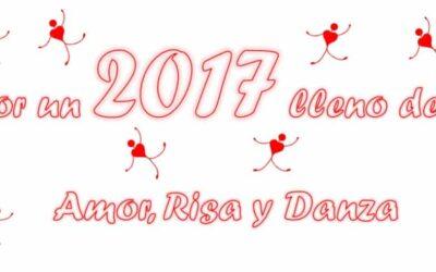 Por un 2017 lleno de Amor, Risa y Danza