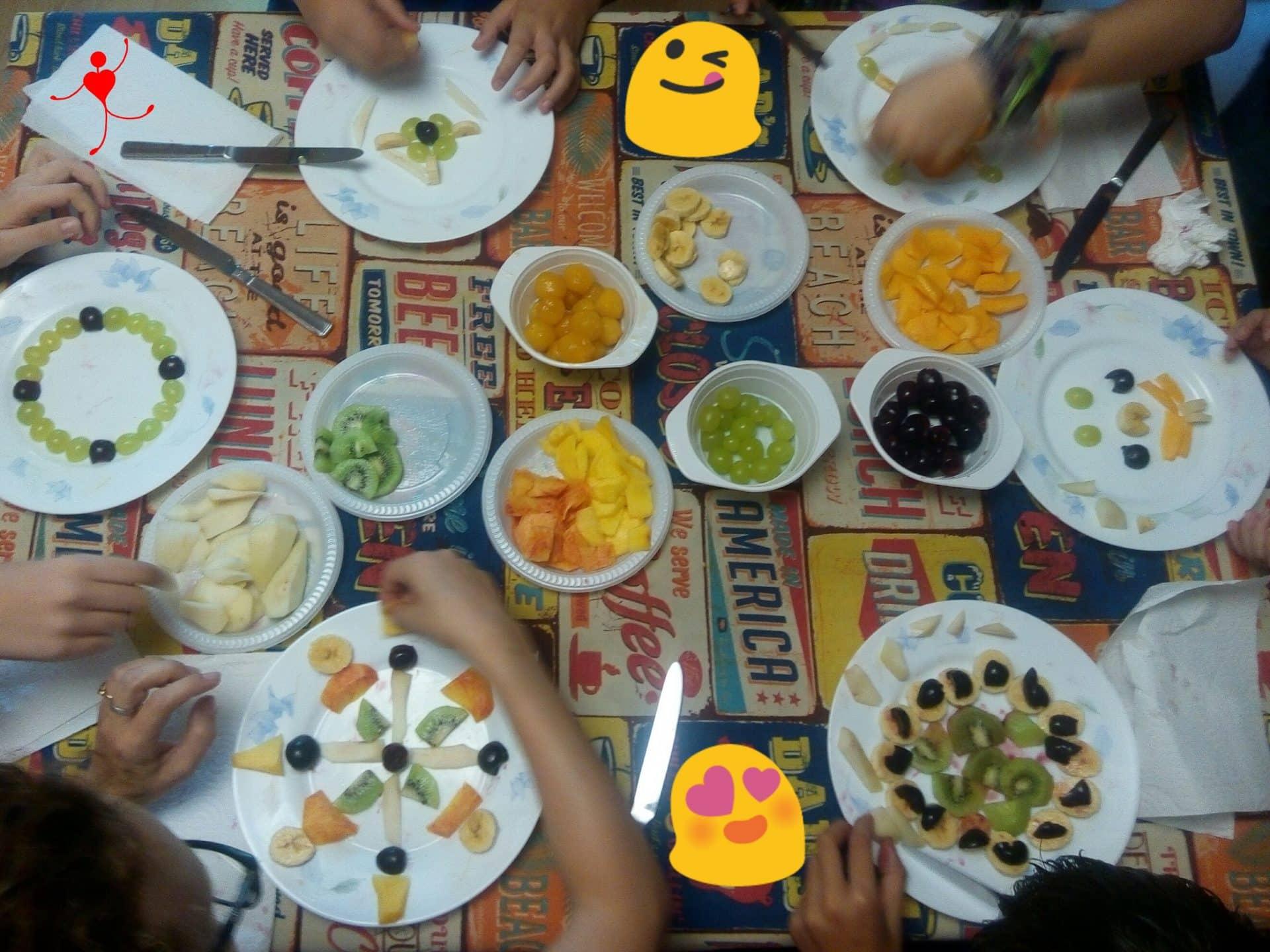 taller mandalas de frutas 1