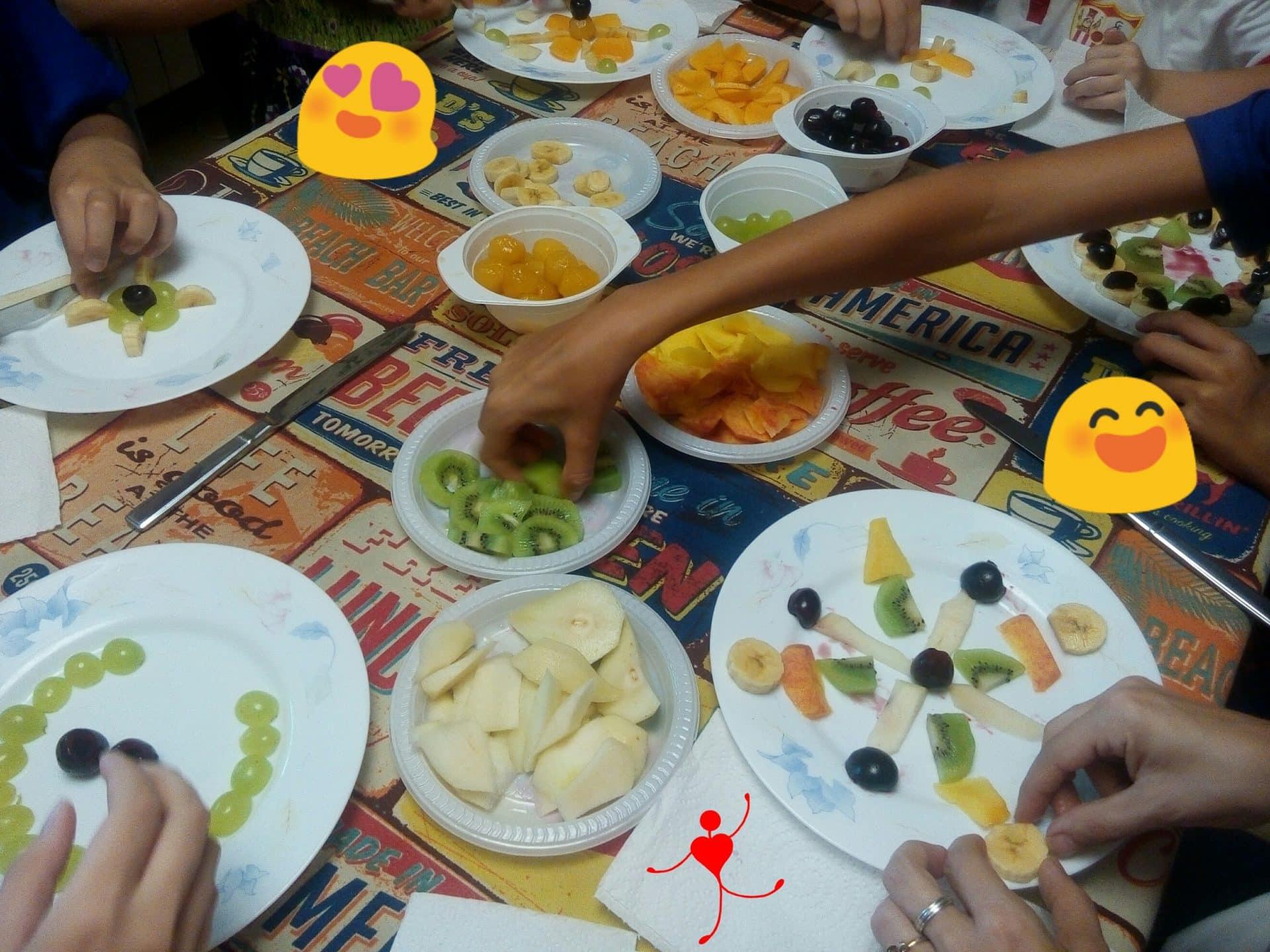 taller mandalas de frutas 2