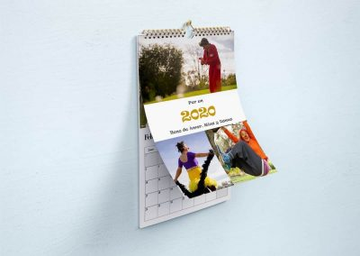Calendario Pared Anais y Pirueta