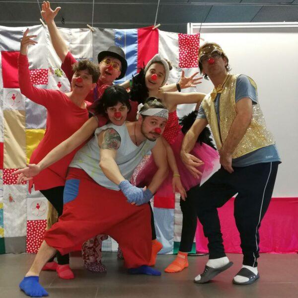 Otra Foto de grupo Curso de Clown