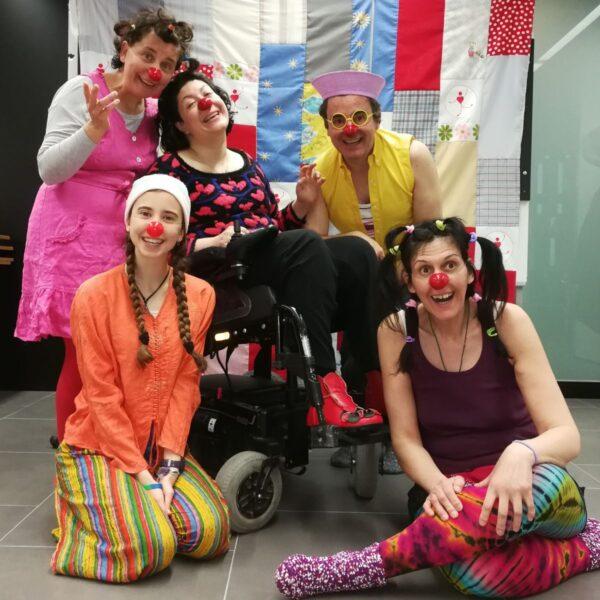 Foto de grupo Curso de Clown
