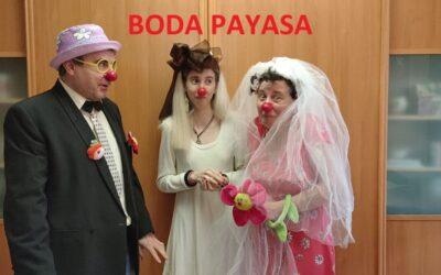 Pirueta se casa en pleno clownfinamiento