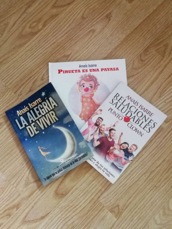 Pack de tres libros